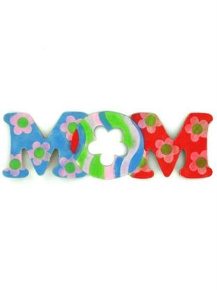 Picture of 24 'Mom' Shaped Sand Art Sets (Available in a pack of 24)