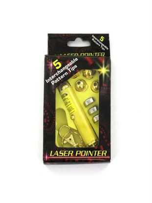 Picture of Laser pointer with interchangeable heads (Available in a pack of 25)