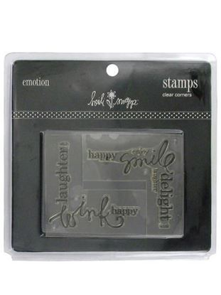 Picture of Clear acrylic stamp corners (Available in a pack of 36)