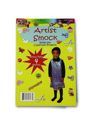 Picture of Disposable children's artist smock (Available in a pack of 24)