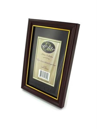 Picture of 4' x 6' Wood tone photo frame (Available in a pack of 24)