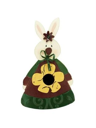 Picture of Bunny birdhouse 12585 (Available in a pack of 1)