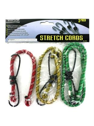 Picture of Assorted size stretch cords (Available in a pack of 24)