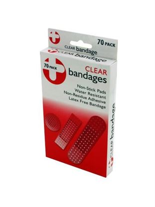 Picture of Clear bandage pack (Available in a pack of 12)