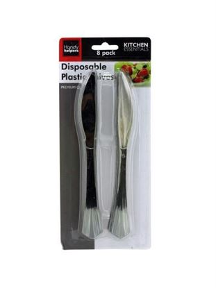 Picture of Disposable plastic knives (Available in a pack of 12)