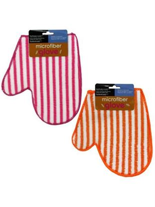 Picture of Microfiber glove 2 assorted colors (Available in a pack of 12)