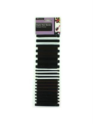 Picture of Elastic hair bands (Available in a pack of 24)