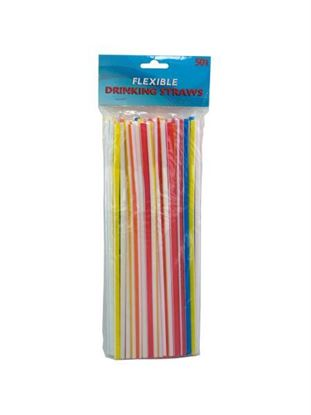 Picture of Flexible drinking straws (Available in a pack of 12)