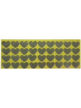 Picture of 108 piece adhesive metal conversation hearts (Available in a pack of 30)