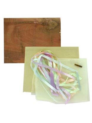 Picture of Baby Ribbon Picture Board Craft Kit (Available in a pack of 5)