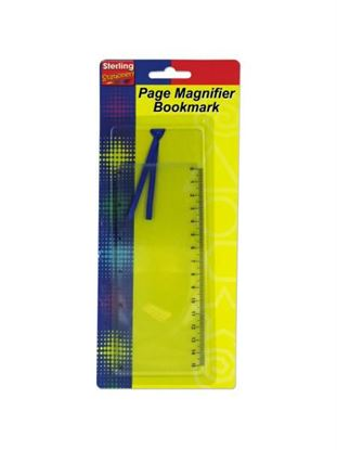 Picture of Page magnifying bookmark (Available in a pack of 24)