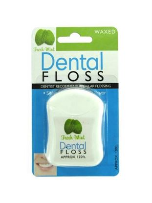 Picture of Fresh mint dental floss (Available in a pack of 24)