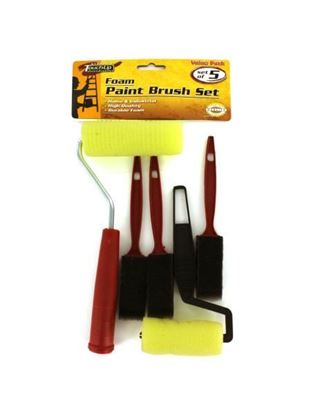 Picture of Foam paint brush set (Available in a pack of 24)