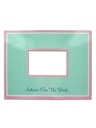 Picture of Bridal Bliss Advice Mat Photo Frame (Available in a pack of 20)