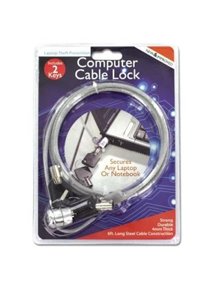 Picture of Computer cable lock (Available in a pack of 4)