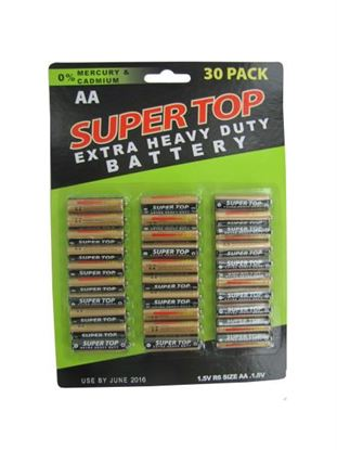 Picture of 30 Pack AA Batteries (Available in a pack of 6)