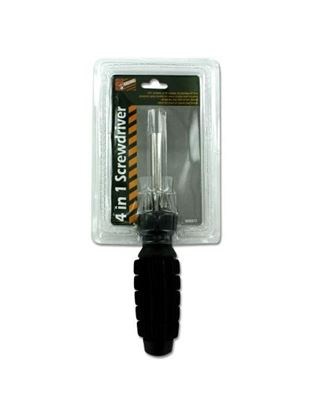 Picture of Four-in-one screwdriver set (Available in a pack of 24)
