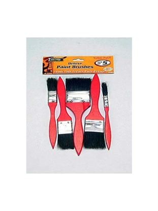 Picture of 5 Pack deluxe paint brushes (Available in a pack of 24)