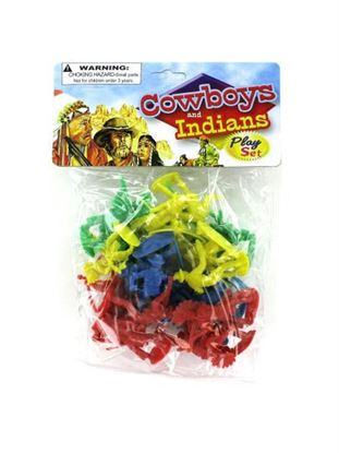 Picture of Cowboys and indians play set (Available in a pack of 24)