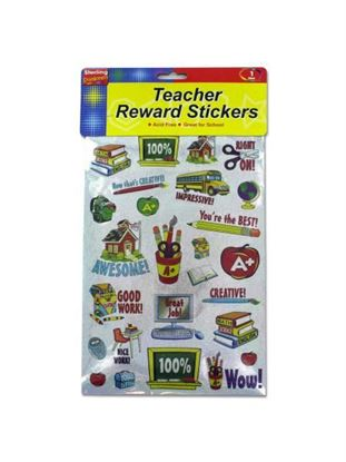 Picture of Teacher award sticker sheet (Available in a pack of 24)