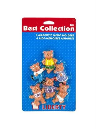 Picture of Bear magnets, pack of 6 (Available in a pack of 24)