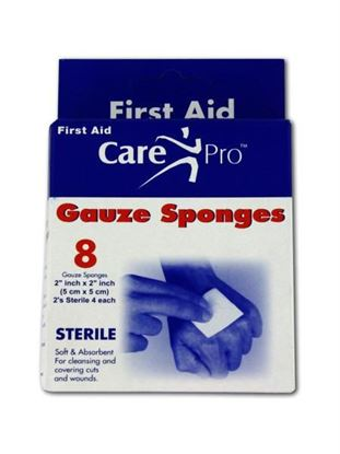 Picture of Gauze sponges, 2' x 2', pack of 8 (Available in a pack of 24)