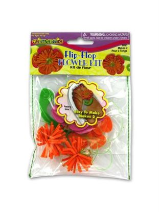 Picture of Flip flop flower kit (Available in a pack of 18)