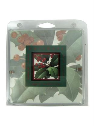 Picture of Holiday holly framed print (Available in a pack of 16)