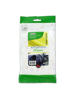 Picture of Automobile wipes (Available in a pack of 24)