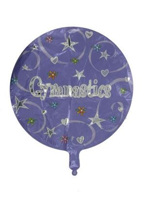 Picture of Gymnastics mylar balloon (Available in a pack of 24)