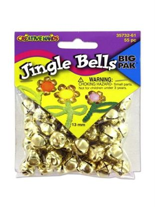 Picture of 13mm Gold jingle bells (Available in a pack of 24)