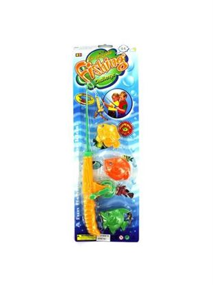 Picture of Magnetic fishing pole and fish (Available in a pack of 24)