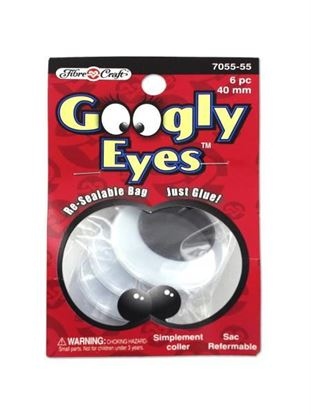 Picture of Jumbo craft googly eyes (Available in a pack of 18)