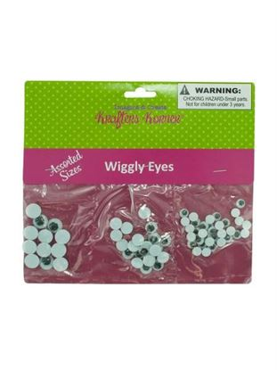 Picture of Craft wiggle eyes (Available in a pack of 24)