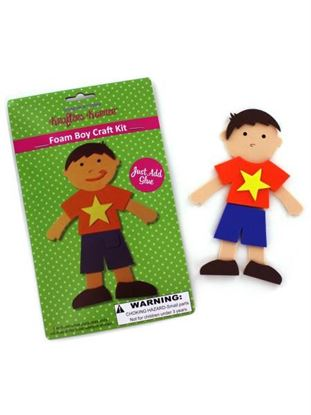 Picture of Foam boy craft kit (Available in a pack of 24)