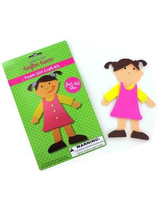 Picture of Foam girl craft kit (Available in a pack of 24)