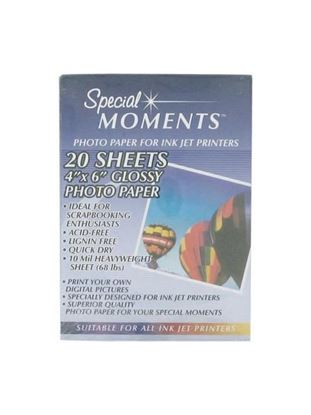 Picture of 20 sheets photo paper (Available in a pack of 30)