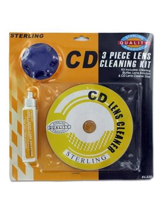 Picture of CD cleaning kit (Available in a pack of 25)