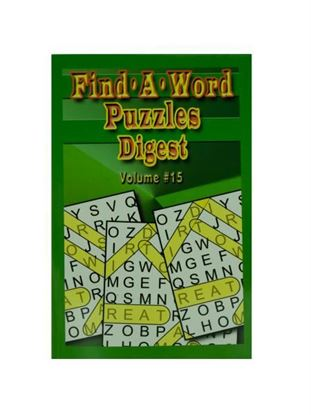 Picture of Big print find a word puzzle (Available in a pack of 24)