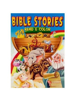 Picture of Bible stories coloring book (Available in a pack of 24)