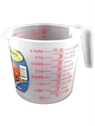 Picture of One quart measuring cup (Available in a pack of 24)