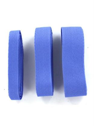 Picture of Light Blue Woven Twill Ribbons (Available in a pack of 25)