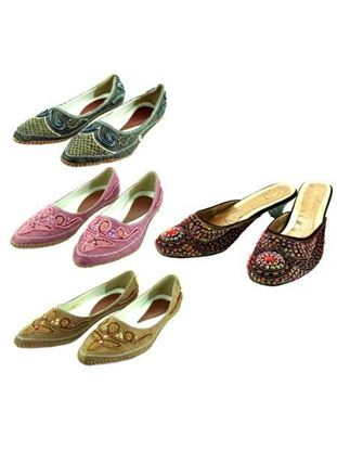 Picture of Beaded shoe assortments (Available in a pack of 6)