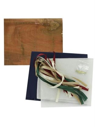 Picture of Country ribbon picture board craft kit (Available in a pack of 5)