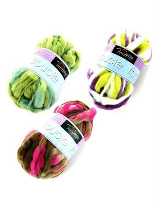 Picture of Boucle yarn (assorted colors) (Available in a pack of 24)