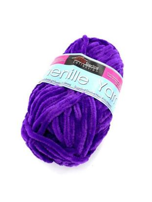 Picture of Chenille yarn (Available in a pack of 24)