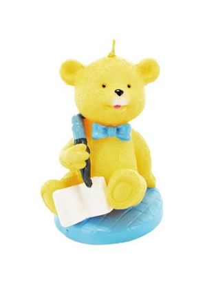 Picture of 2.5 inch x 3.5 inch baby bear candle (Available in a pack of 24)