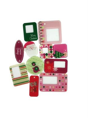 Picture of Acrylic holiday frames and tags (Available in a pack of 48)