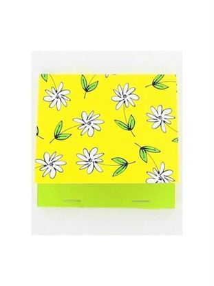 Picture of Floral memo pad with 50 pages (Available in a pack of 24)