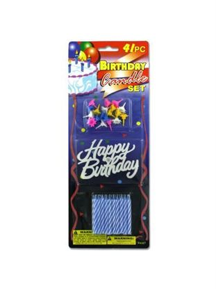 Picture of Birthday candle set (Available in a pack of 24)